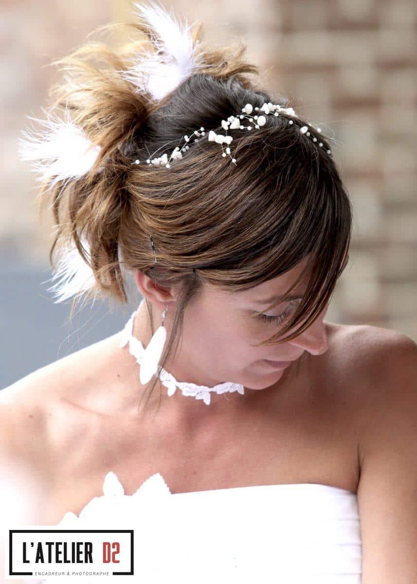 photographe coiffure chignon mariee valenciennes